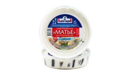 Сельдь Матье в майонезной заливке