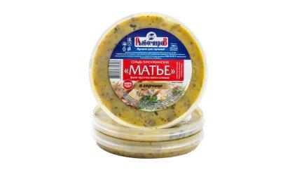 Сельдь Матье в горчице