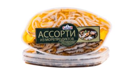 Ассорти деликатесное (кукумария, кальмар)