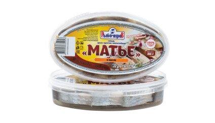 Сельдь Матье Премиум Кусочки в масле