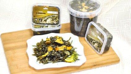 Салат из м/к с грибами