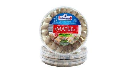 Сельдь Матье в масле с ароматом укропа