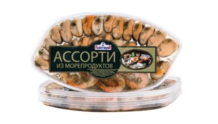 Ассорти деликатесное (креветка, мидия)