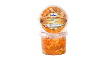 Салат из капусты б/к с морковью по-корейски
