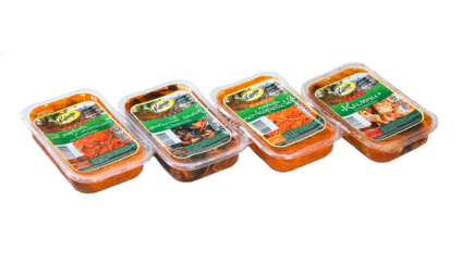 Cалаты корейской кухни Kabacha
