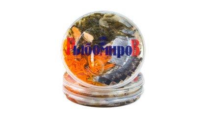 Сельдь Матье с гарниром (мидии, м/к, кальмар, морковь)