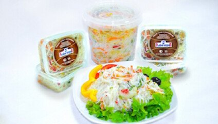 Фунчеза с овощами по-корейски